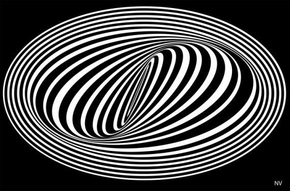ART NUMéRIQUE hyptnose psychologique noir blanc - hyptnosis