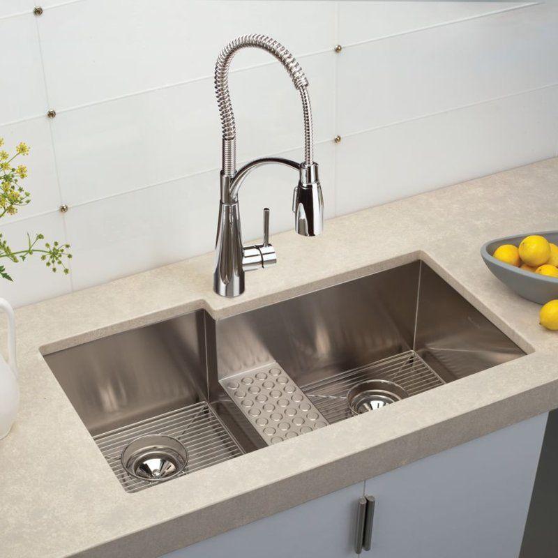 New Undermount Kitchen Sink Inside 32 Inch Stainless Steel Si