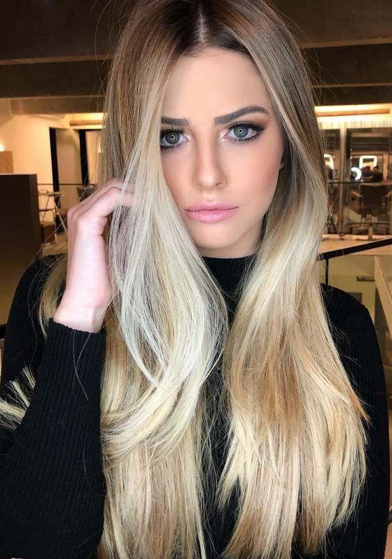 45 Fresh Vanilla Blonde Hair Color Trends for 2018 – My Blog #winterhaircolor