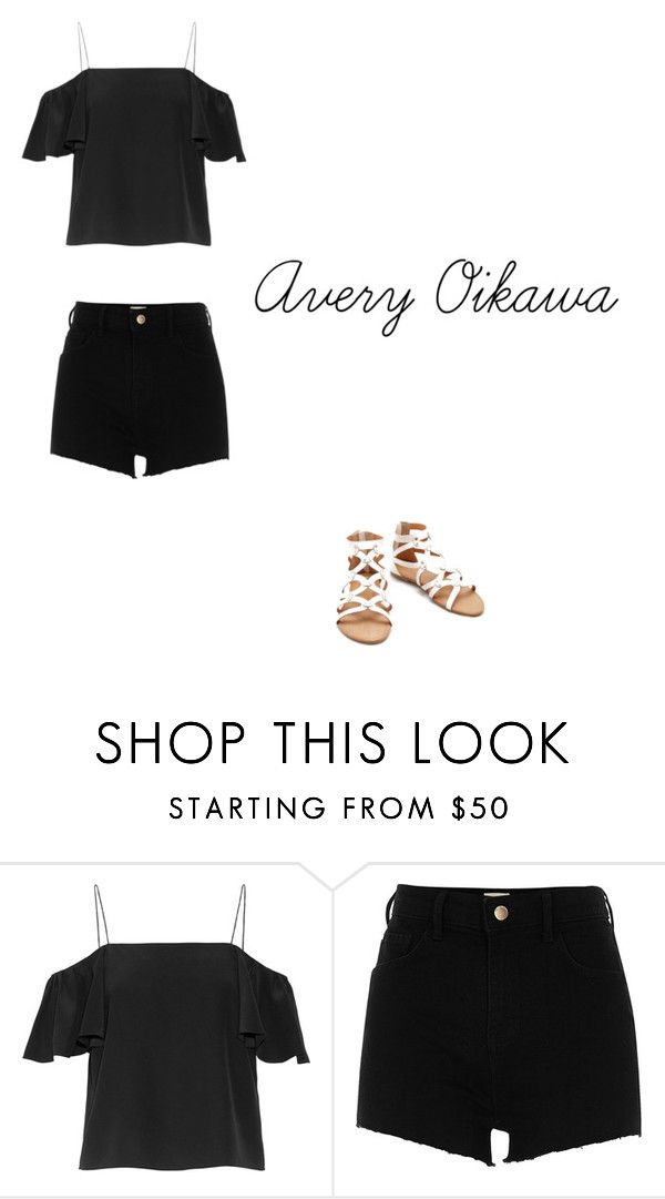 """""""Avery Oikawa"""" by soulmiester on Polyvore featuring Fendi and River Island"""