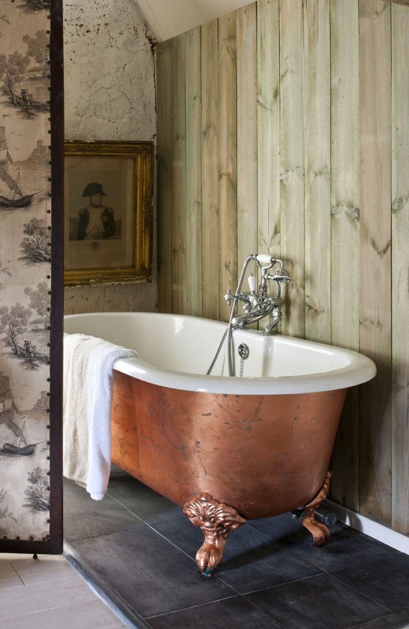 Painted Bathroom Transformations Clawfoot Bathtub Clawfoot Tub