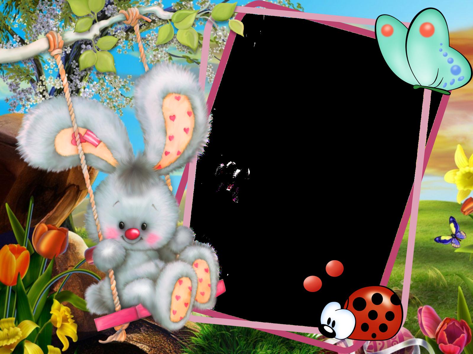 Рамки открытки детские