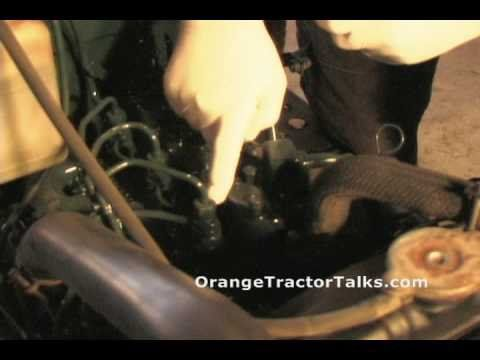 How To Bleed Kubota Fuel Injector Lines Lawn And Farm