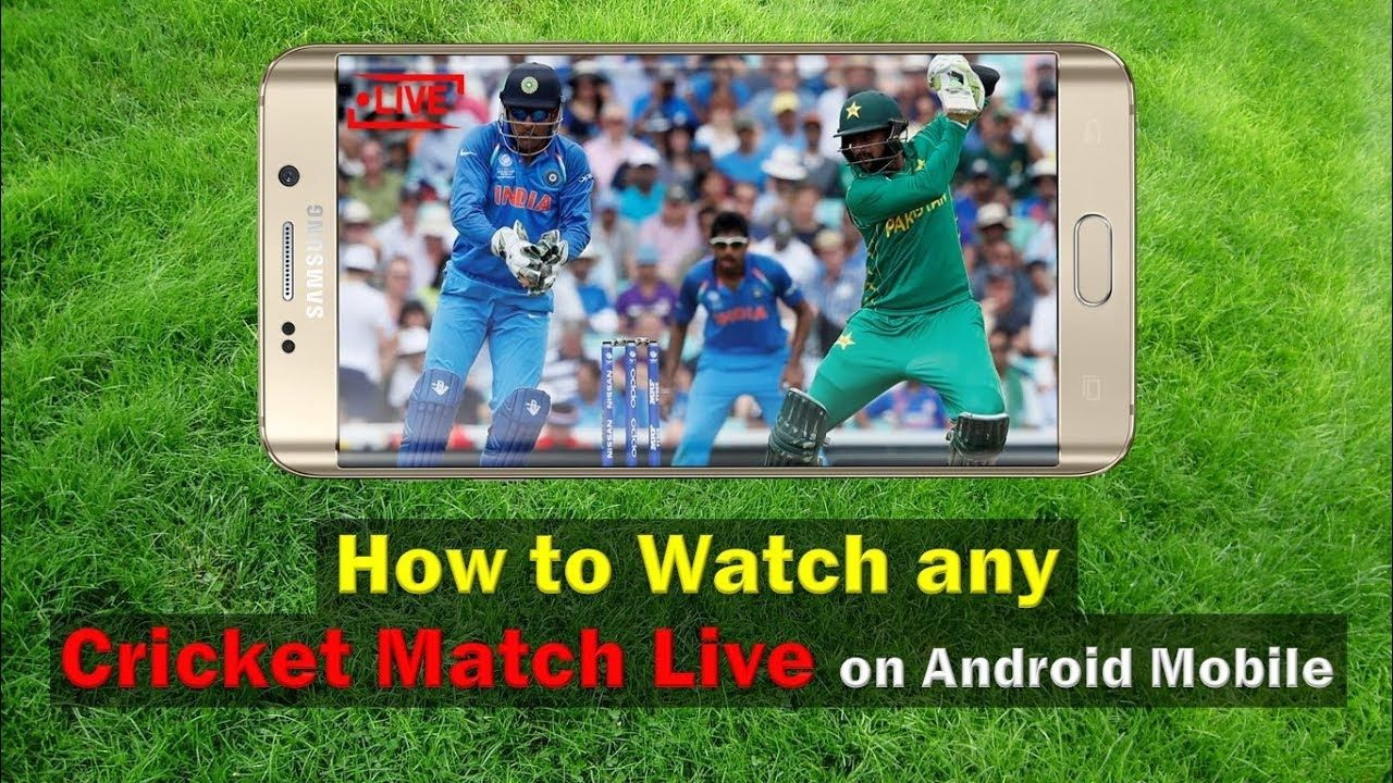 How To Watch Any Cricket Match Live On Android Mobile Live Cricket Str Cricket Match Live Cricket Streaming Live Cricket