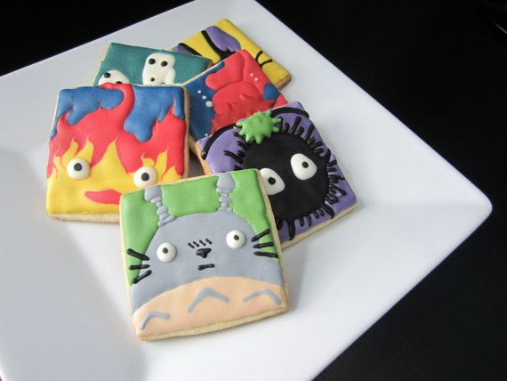 Studio Ghibli (Miyazaki Films) Inspired Cookies with Royal Icing | Community Post: 17 Must-Have Studio Ghibli Gifts