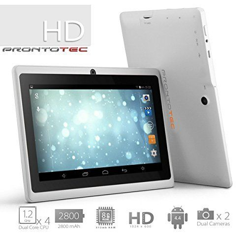 Prontotec Axius Series Q9s 7 Inch Quad Core Android 4 4 Kitkat Tablet Pc 1024 X 600 Pixels Cortex A8 Processor 8gb Rom Dual Camera G Tablet Quad Android 4