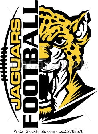 vector jaguars football stock illustration royalty free rh pinterest com