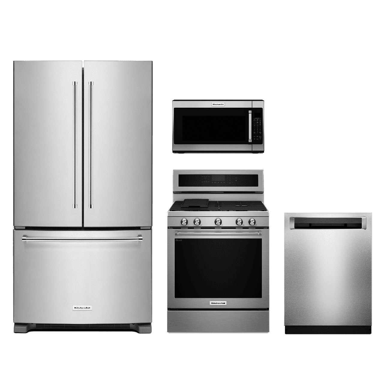 KitchenAid® 4 Piece Kitchen Package-Stainless Steel with a ...