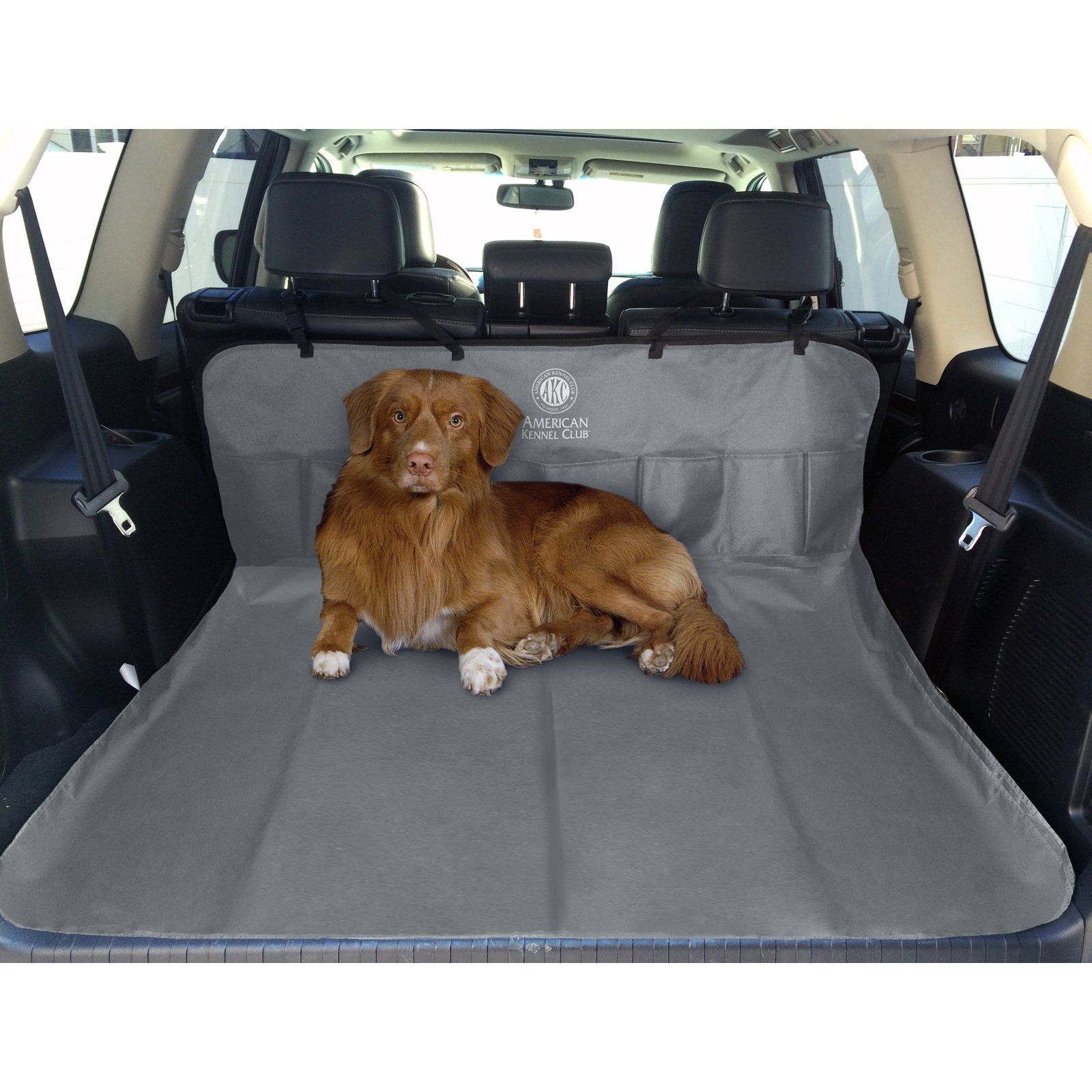 Pleasing Akc 5 Pocket Back Seat And Cargo Car Seat Cover Gray In 2019 Alphanode Cool Chair Designs And Ideas Alphanodeonline