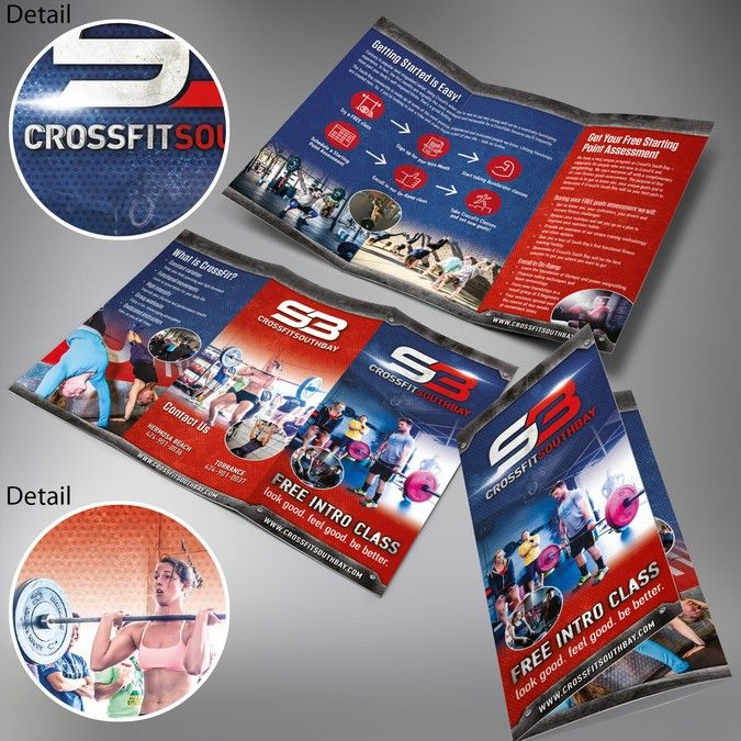 Design A Sizzle Brochure For An Established Crossfit Gym By
