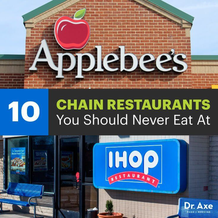 Chain Restaurants to Avoid? Types of food allergies