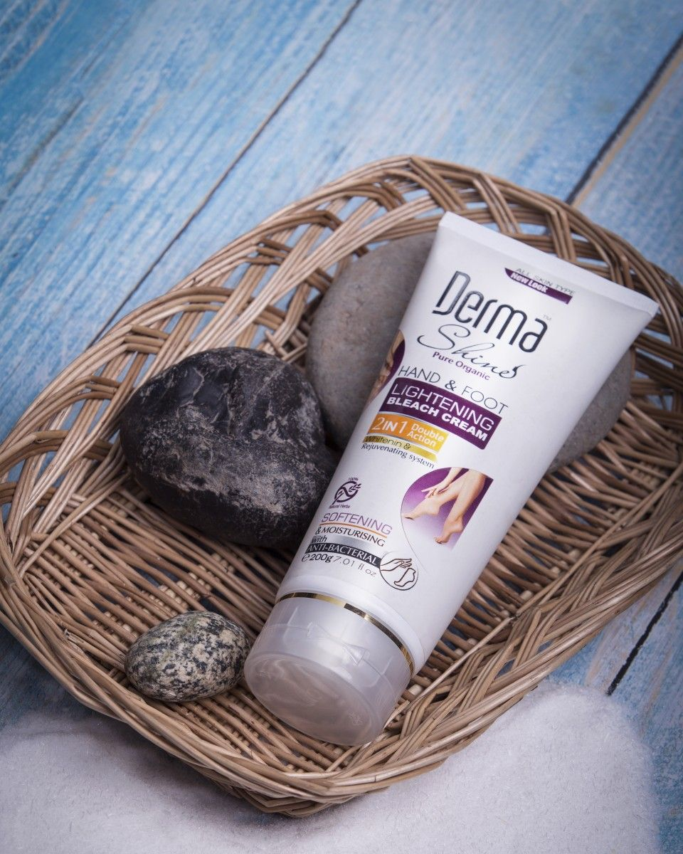 Derma Shine Hand & Foot Lightening Bleach Cream in 2020