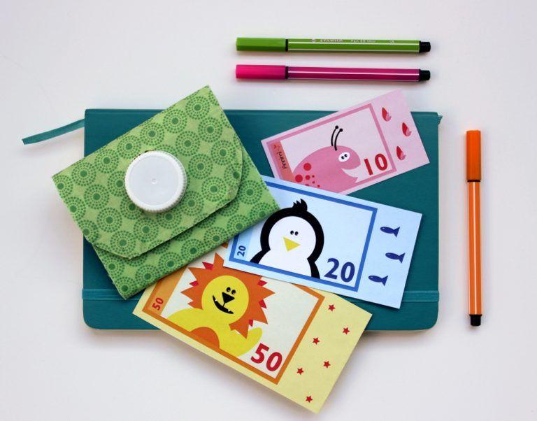spielgeld zum ausdrucken  diytetrapakportemonnaie