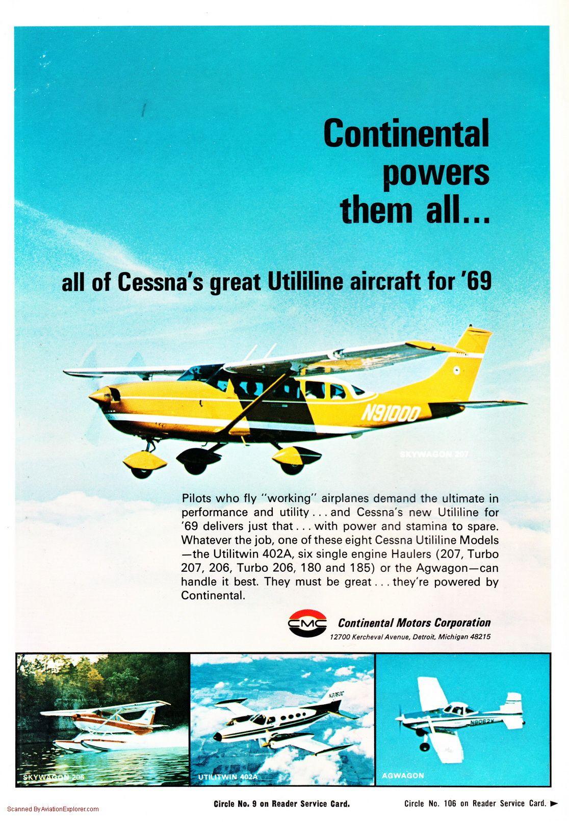 Continental Motors Division Aircraft Engines Vintage Aircraft Vintage Airlines Vintage Aviation