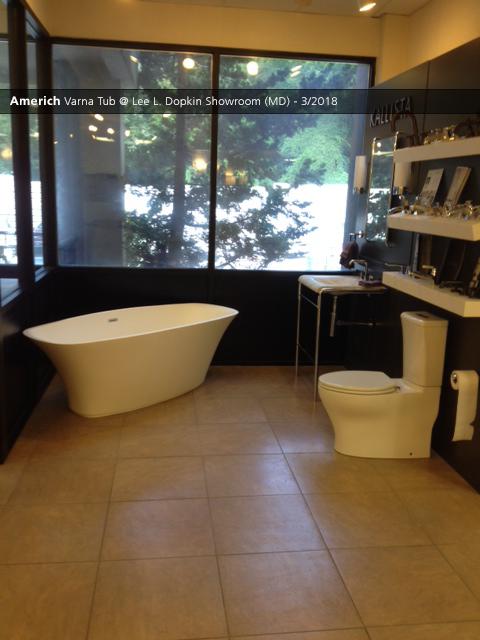 Americh Varna Tub Lee L Dopkin Showroom MD Showroom - Bathroom showrooms in maryland