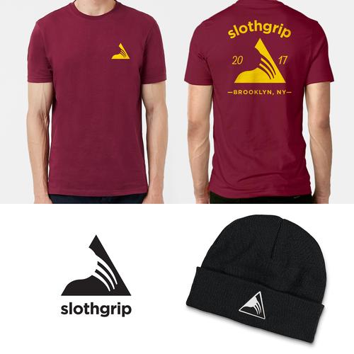 efc46cc082421 slothgrip - Design a sloth-themed logo for a Climbing & Outdoor Apparel  brand I