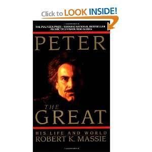 Peter The Great 9780345336194 Robert K Massie Books Peter