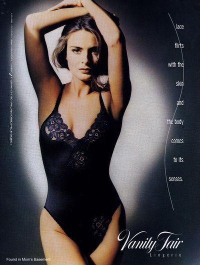 e74e0d0625480 1991 ad for Vanity Fair lingerie