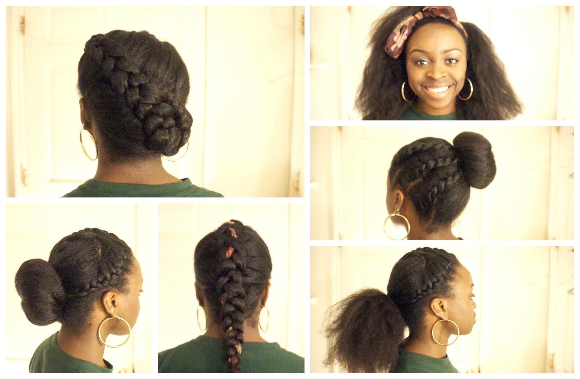 5 Back To School Hairstyles For Natural Hair 2014