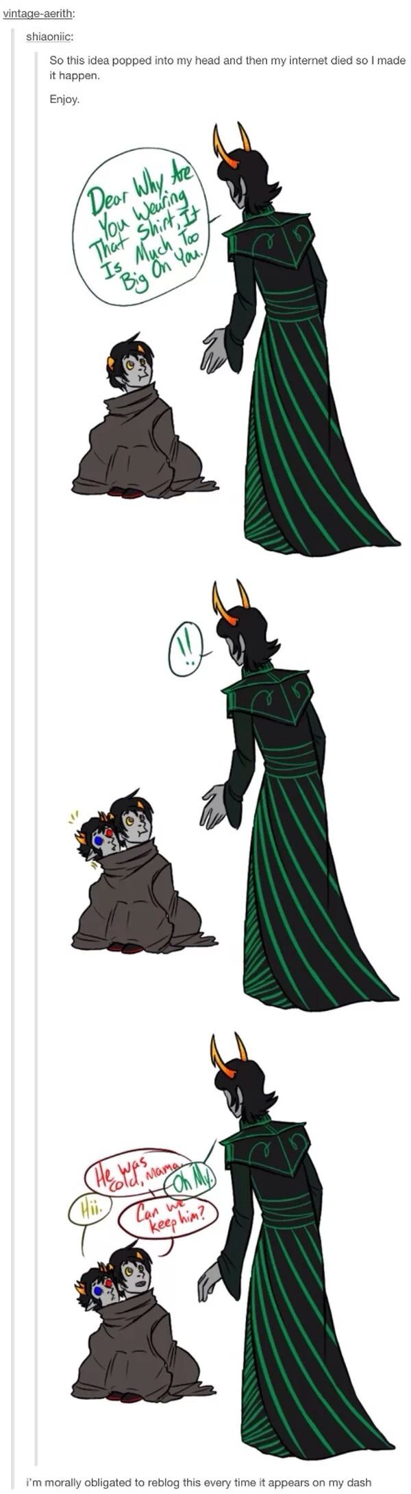 Everyone is morally obliged to repin this Signless psionic dolorosa adorableness
