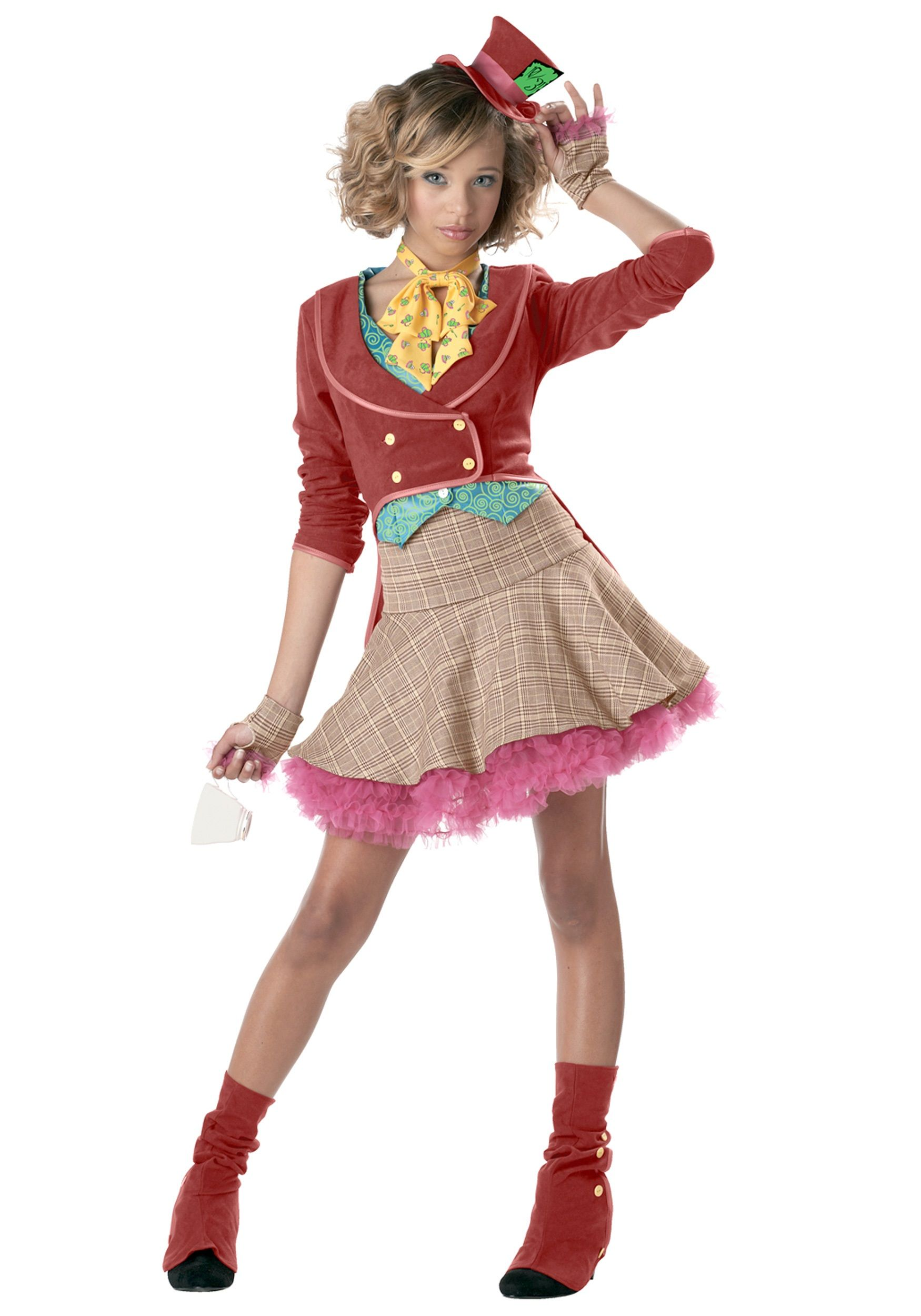 halloween costumes for girls teen girls mad hatter costume - Cute Teenage Girl Halloween Ideas