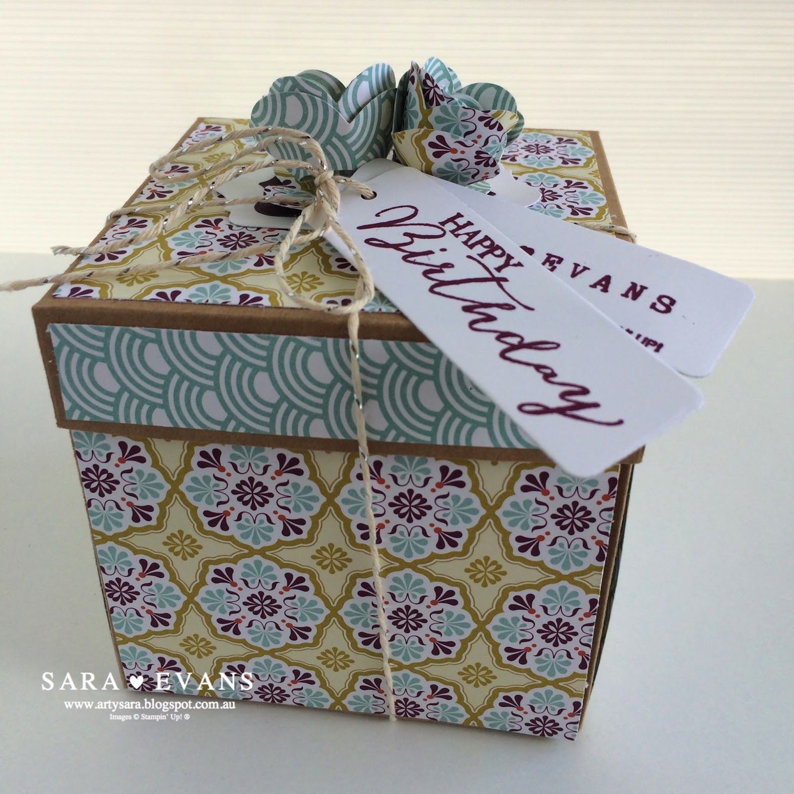 Exploding Box Card Diy Gifts Pinterest Exploding Box Card