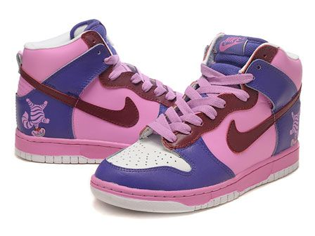 on sale 3fbc3 9001d male alice in wonderland  Home  Nike Dunk High Men  Nikes Cheshire Cat Dunk  Hi Alice in .
