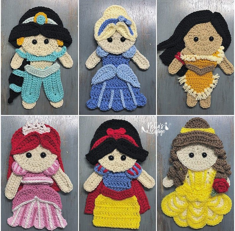 Crochet Doll Clothes & Shoes - Special Occasion Fashions for 18 ... | 780x794