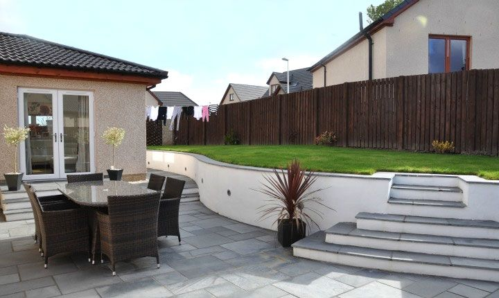rendered walls garden design Google Search backyard ideasveg