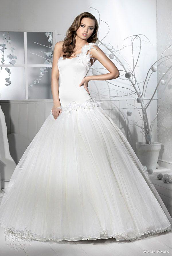 Maria Karin Wedding Dresses 2012 | Romantic wedding dresses ...