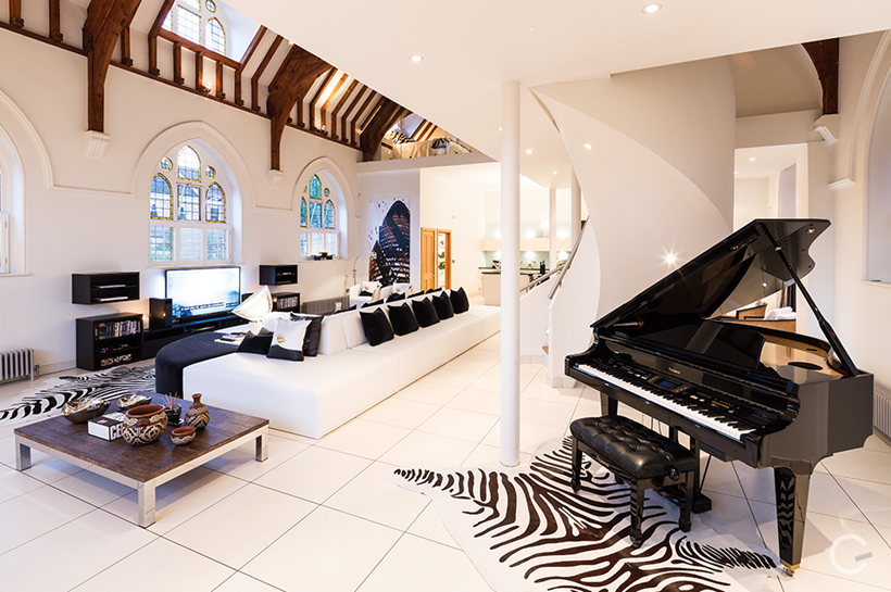 Converted Church With Stunning Interior Design London UK
