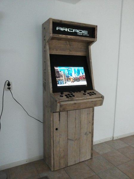 borne arcade wood