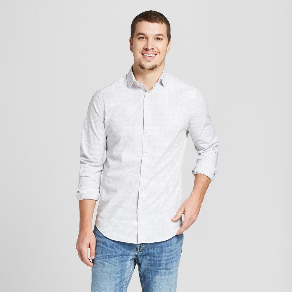 0afae674 The Ultimate Button-Down Dress Shirt from Goodfellow and Co. deserves to be  part of any guy's wardrobe. Made from soft washed fabric this long-sleeve  ...