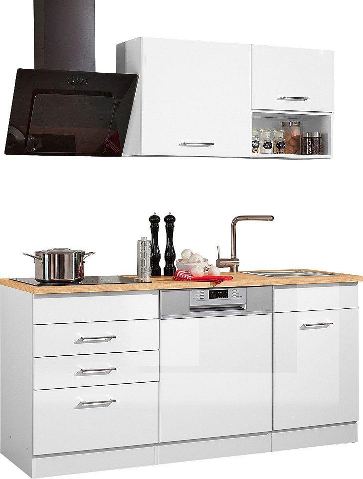 Held Möbel Küchenzeile mit E-Geräten»Haiti«, Breite 170 cm Jetzt - küchenzeile 220 cm mit elektrogeräten