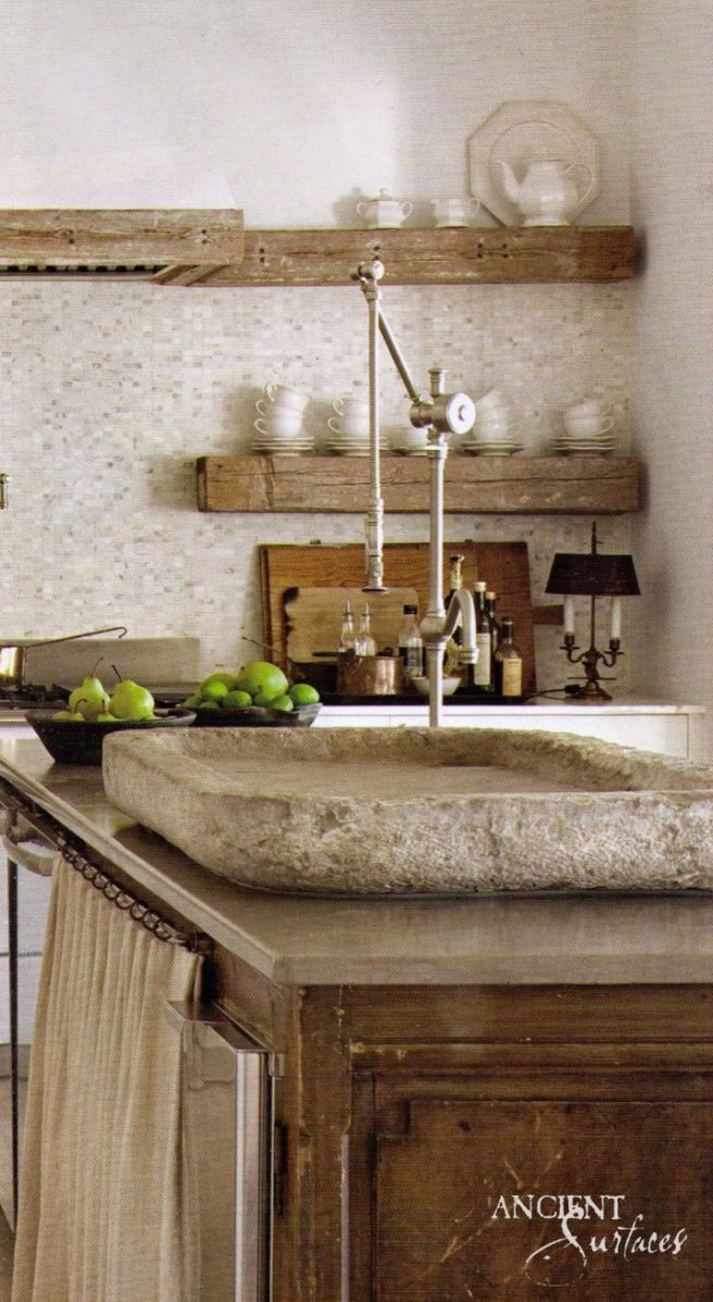 45 kitchen sink ideas for your dream house - French Kitchen Sinks