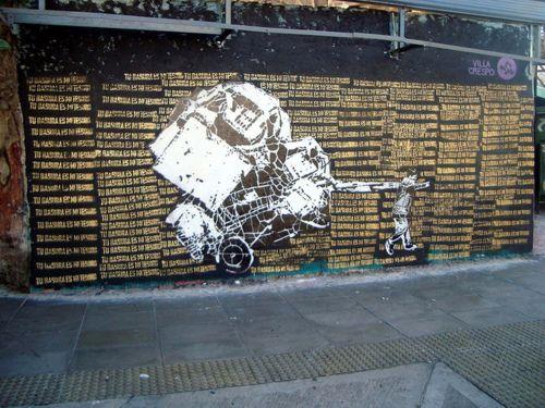 streetart Argentina,
