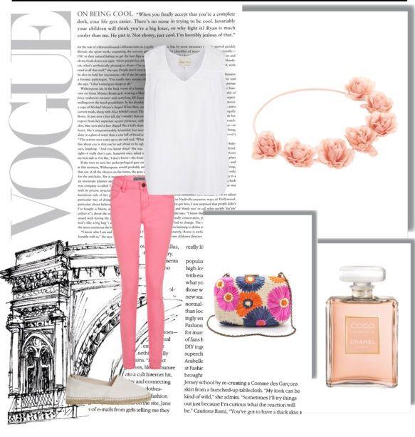 Dale la bienvenida a la primavera con un look soft!  1.- Perfume Coco Mademoiselle- Chanel  http://fashion.linio.com.mx/a/perfumecoco