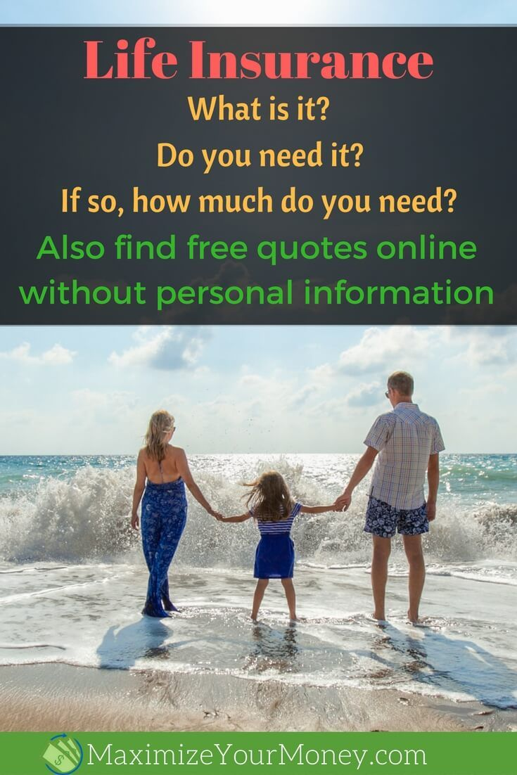 Life Insurance Quotes Without Personal Information Life Insurancethe Important Topic We Prefer To Ignore Term