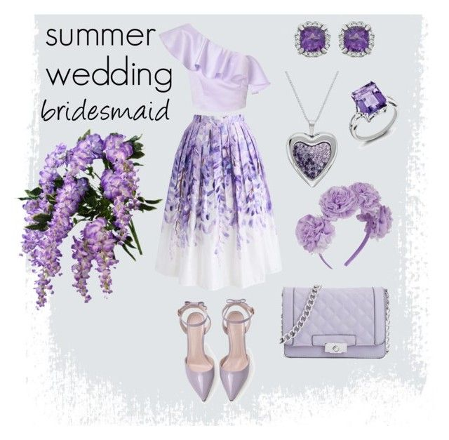 "Bridal Shoes Selfridges: ""summer Wedding: Bridesmaid"" By Artgazzm On Polyvore"