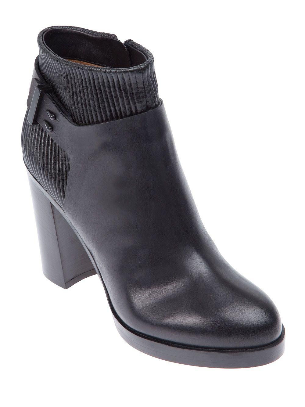Marsall Trapu Chaussures À Lacets Talon - Noir 5cqME6