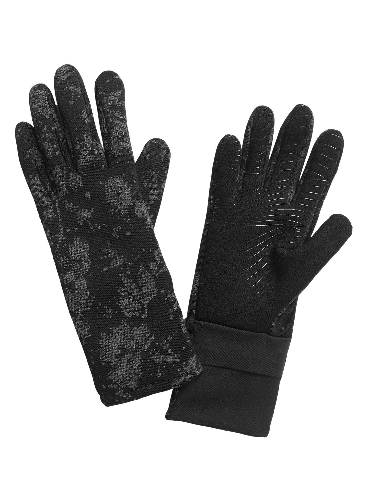 ReflecToes Reflective Running Gloves Lightweight Hi Vis Winter Running Gear Cold Weather Jogging at Night Touchscreen