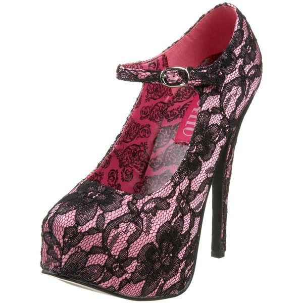 Womens Bordello Teeze 07L - Red Satin/Black Lace Dress