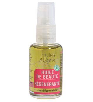 Huile de Beauté Régénérante de chez Huiles & Sens Aromatherapie (http://www.huiles-et-sens.com/Huile-de-Beaute-Regenerante/)