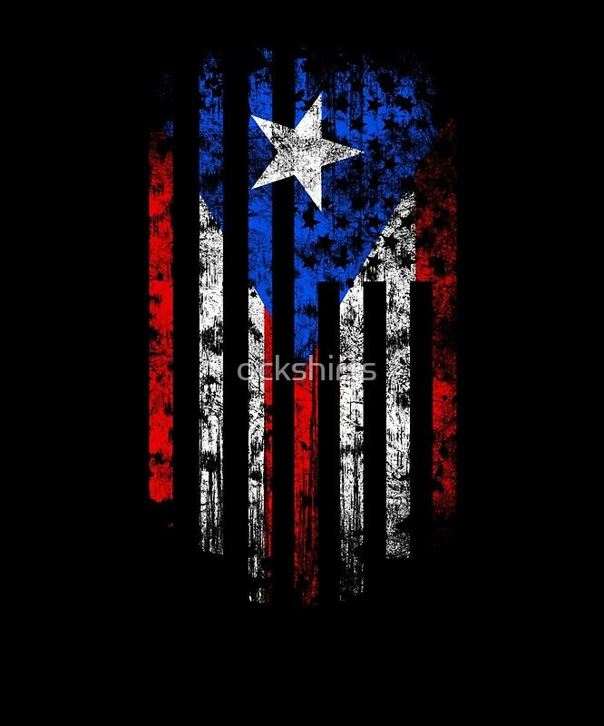 Puerto Rico And America Flag Combo Distressed Design Poster By Ockshirts In 2020 Puerto Rican Flag Puerto Rico Art Puerto Rico Tattoo
