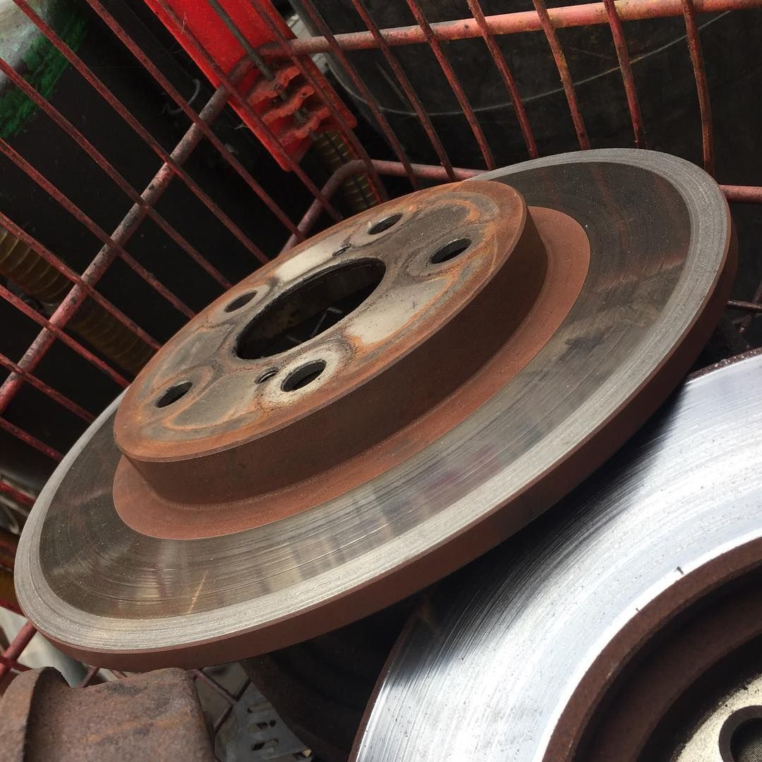 Basket of bad brakes off to the scrap yard. #recycle #rotors ...