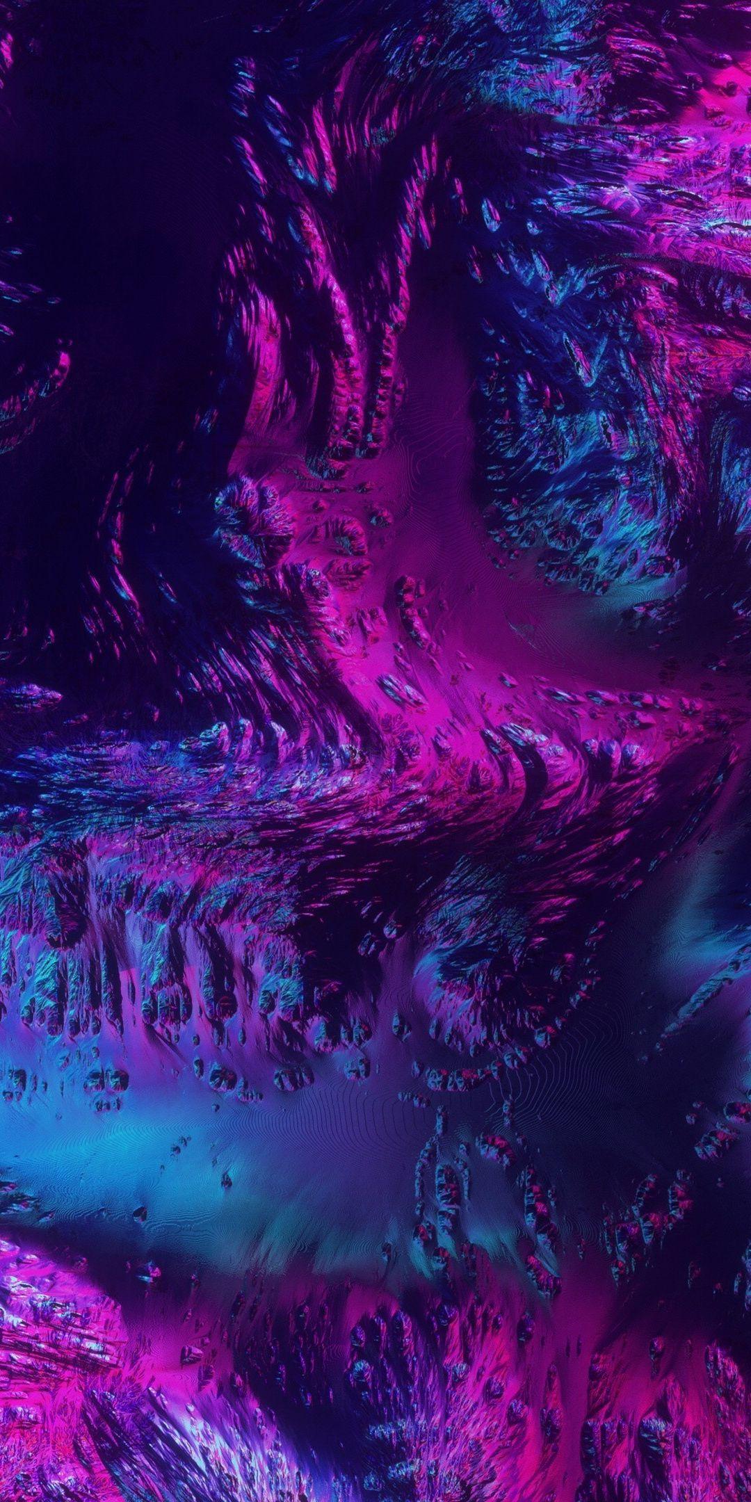 Neon, texture, abstract, dark, art, 1080x2160 wallpaper   Colors/Patterns in 2019   Pinterest ...