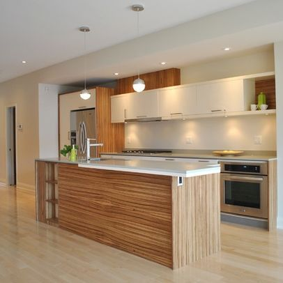 Küchenwände Neu Gestalten zebrano zebra wood cozinha