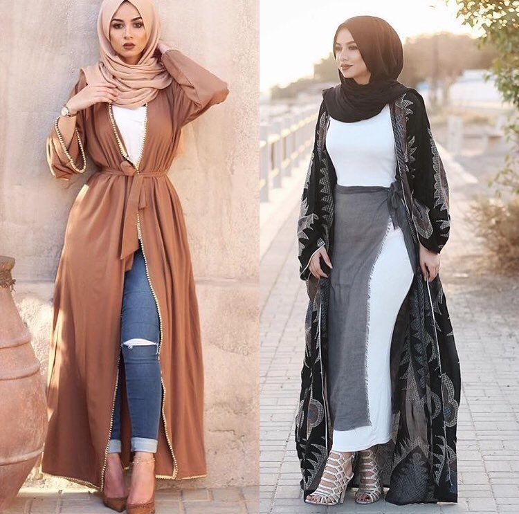 Muslim Style Classy Fashions For Fall Winter Pinterest Muslim Abayas And Muslim Fashion