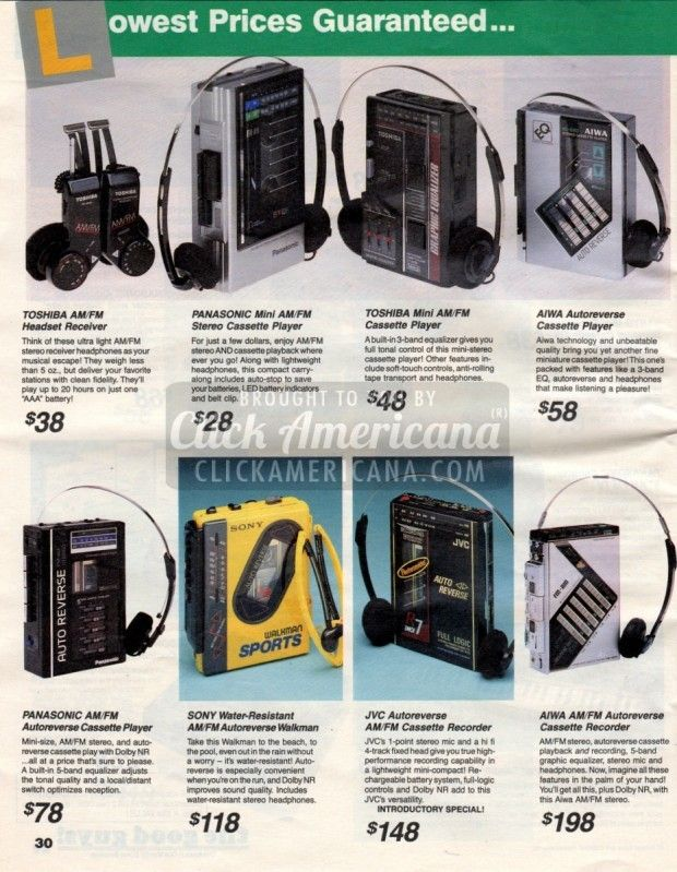 1987′s hottest TVs, VCRs, stereos, cellular phones