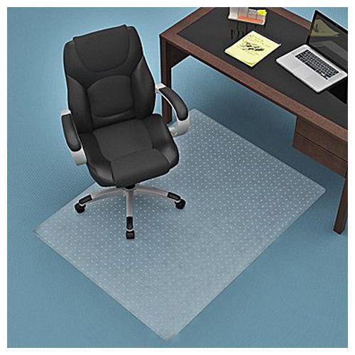 Z Line Rectangular Straight Edge Chair Mat Clear Pcrichard Com
